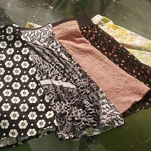 Lot of 5 Forever 21 Skirts